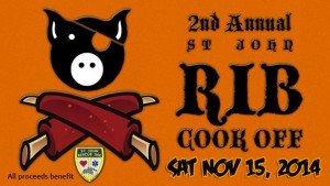 St John Rib Cook Off 2014 to benefit St John Rescue