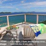 Tradewinds Cottage 1 or 2 bedroom St John villa rental