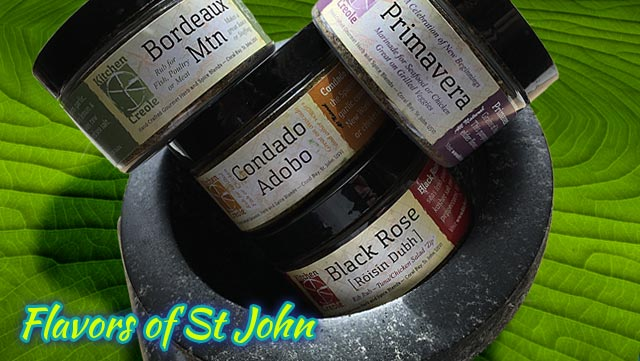 St John spices - Kitchen Creole - Chef Jim