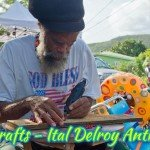 Ital Delroy Anthony St John local crafts and art
