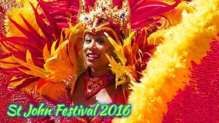 St John Festival 2016 schedule