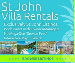 St John Rental Villas banner