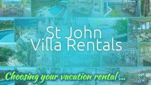 St John Rental Villas web site