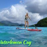 SUP Waterlemon Cay St John US Virgin Islands National Park