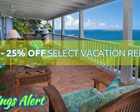 St John vacation rental villas specials