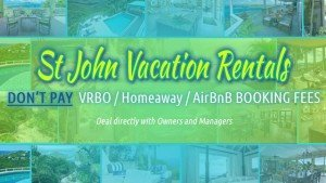 St John vacation villa rental information