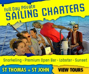 St Thomas and St John full day sailing charters