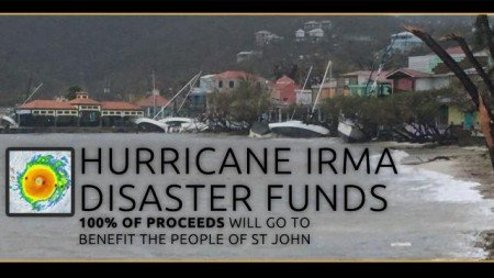St John USVI irma relief funds donations