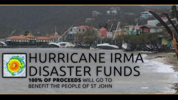 St John USVI irma relief funds donations