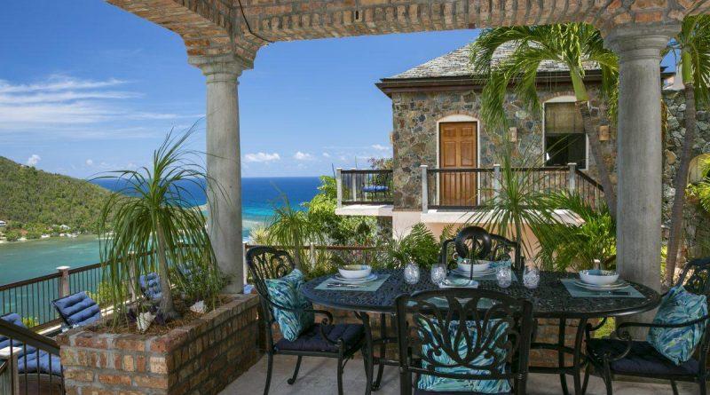 Cara Mia Villa, St John vacation rental ocean view
