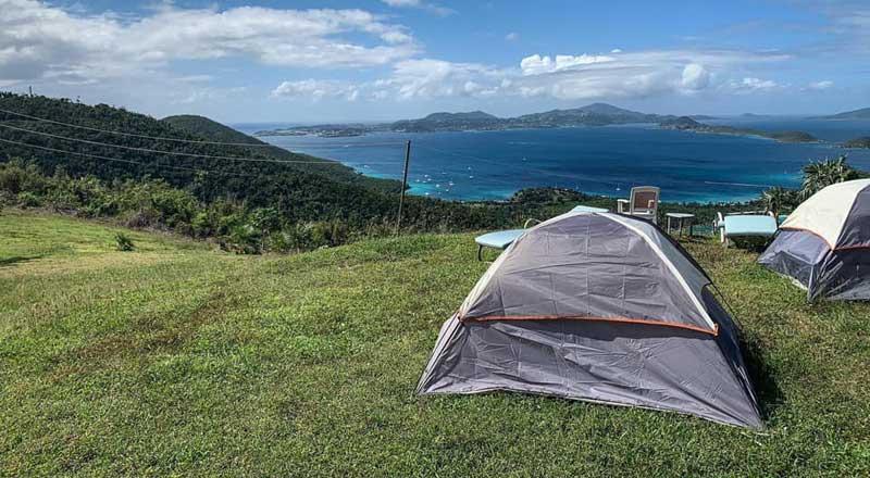 Camp St John Neptunes Lookout