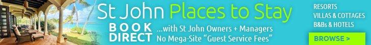St John Villa Rentals banner ad