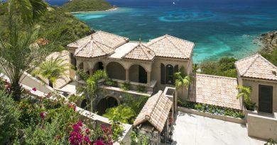 Villa Calypso, St John vacation rental, ocean view