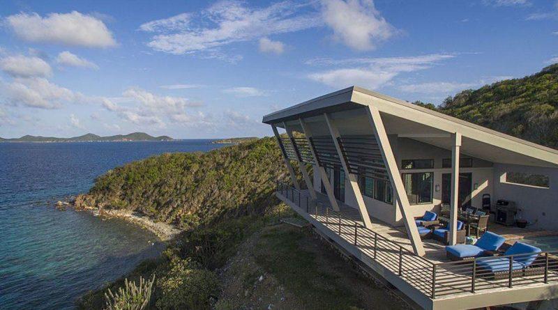 Eco Haute St John vacation rental ocean view