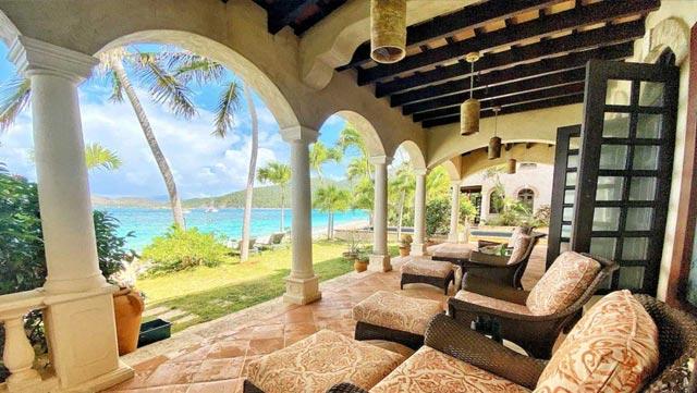 Peter Bay Beach House, St John, US Virgin Islands